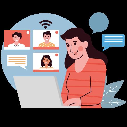 Sviluppo applicazioni lezioni aula virtuale
